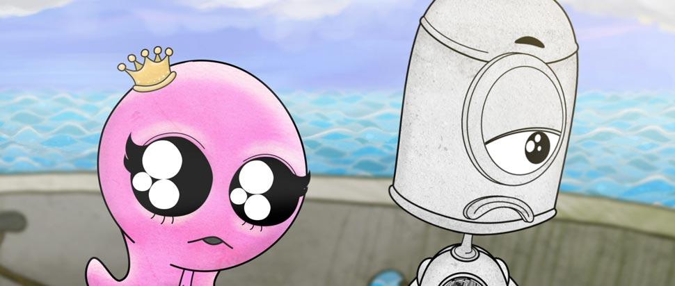 Rrobuboy 2D Animation