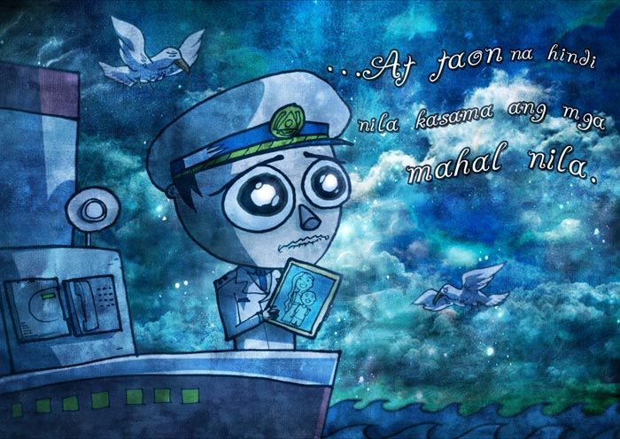 The Legend of The Salty Sea Illustration-5
