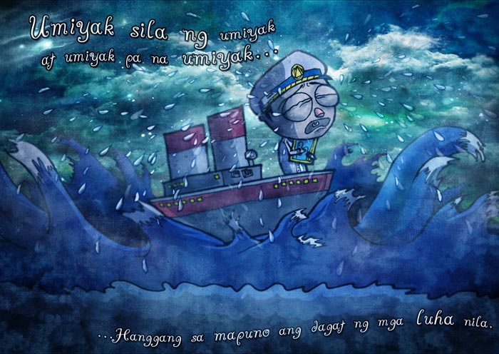 The Legend of The Salty Sea Illustration-6