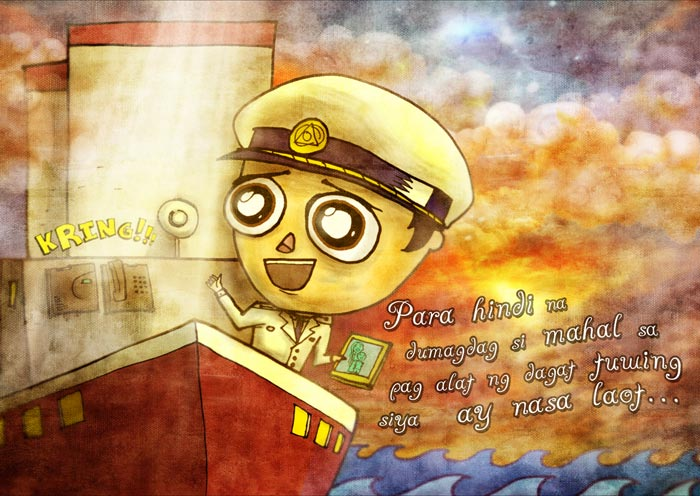 The Legend of The Salty Sea Illustration-7