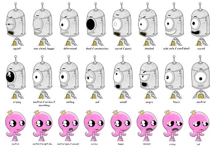 Robuboy Chracter Designs 03